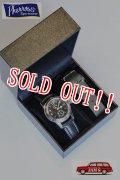 「Pherrows」 フェローズ 25周年限定モデル USN BUSHIP ビューシップ ミリタリーウォッチ 腕時計 USN-BUSHIP-WATCH [ブラック]