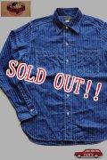 「JELADO」 Lineman Shirts  ジェラード ラインマンシャツ スターウォバッシュ AG11101 [インディゴ]