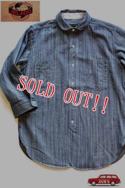 画像1:  「JELADO」 LOWER SHIRTS ジェラード ローワーシャツ 7分袖 シャンブレーワークシャツ AG11102 [インディゴヒッコリー]
