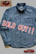 「JELADO」 Denim Oxford B.D.Shirts ジェラード デニム オックスフォード ボタンダウンシャツ コットンリネン JP94103 [インディゴ]