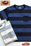 「JELADO」 Keepers Tee ジェラード キーパーズ ボーダークルーネック Tシャツ  JP11217  [バニラ・ネイビー]