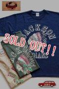 「JELADO」 Jackson Indian Tee ジェラード ジャクソン インディアン カラーフロッキー Tシャツ JP11214  [ネイビー・オリーブ・ピーナッツ]