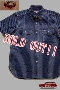 「JELADO」 Ventilation Work Shirts ジェラード ベンチレーション ワークシャツ JP12104 [インディゴウォバッシュ]