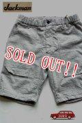 「Jackman」 Cotton Dotsume Shorts  ジャックマン コットン ドツメ ショーツ 度詰天竺 JM7926ID 「ヘザーグレー」