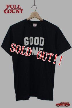 画像1: 「FULLCOUNT」 PRINT TEE (GOOD TIME) フルカウント プリント Tシャツ [ブラック]