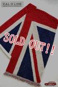 「CAL O LINE」 UNION JACK FLAG BLANKET キャルオーライン イギリス国旗 ユニオンジャック ブランケット 今治タオル CL162-093 [イギリス]