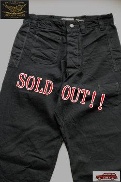 画像1: 「JOHN GLUCKOW」by 「JELADO」 Net Makers Trousers ジョングラッコー ジェラード ネットメーカーズ トラウザーズ JG94302  [ブラック]