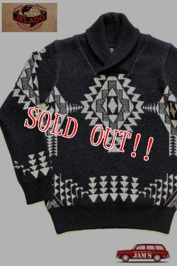 画像1: 「JELADO」 Salem Knit-Shawl Collar ジェラード セーラムニット セーター ショールカラー CB13806 [ブラック]
