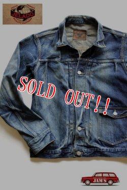 画像1: 「JELADO」 Novel Classic Jacket Vintage Finish ジェラード ノーベルクラシック 加工 デニムジャケット JP13415 [ヴィンテージ インディゴ]