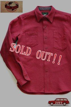 画像1: 「JELADO」 Maryland Shirts ジェラード メリーランドシャツ ドビークロス ネル AG13105 [オールドレッド]