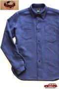 「JELADO」 Maryland Shirts ジェラード メリーランドシャツ ドビークロス ネル AG13105 [オールドネイビー]