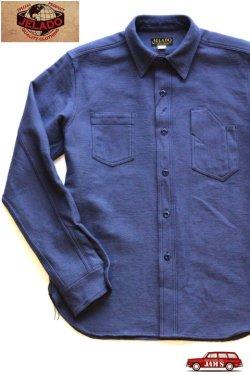 画像1: 「JELADO」 Maryland Shirts ジェラード メリーランドシャツ ドビークロス ネル AG13105 [オールドネイビー]