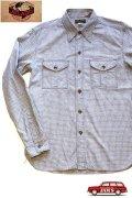 「JELADO」Pressman Shirts ジェラード プレスマンシャツ AG21103 [ソルト&ペッパー]