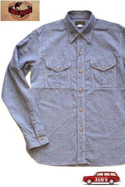 画像1: 「JELADO」Pressman Shirts ジェラード プレスマンシャツ AG21103 [インディゴ]