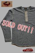 「JELADO」 L/S  Classic underwear ジェラード クラシック アンダーウェア ヘンリーネック 長袖Tシャツ JAGT-013 [ソルト&ペッパー]