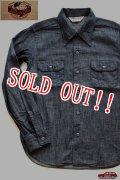 「JELADO」 Override Shirts ジェラード オーバーライドシャツ デニム SG21110 [ブラック]