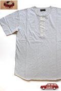 「JELADO」 S/S  Classic underwear ジェラード クラシック アンダーウェア 半袖Tシャツ ヘンリーネック JAGT-014 [オートミール]