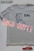 「CAL O LINE」 CAL MAP Tee キャルオーライン カリフォルニアマップ Tシャツ [ホワイト]