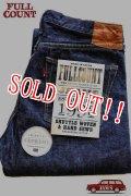 「FULLCOUNT」25th Anniversary Denim Pants #1108 EXTREME フルカウント 25周年記念 デニムパンツ  ストレート レッグス 14.5oz  [ワンウォッシュ インディゴ]