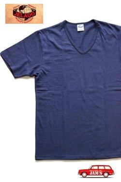 画像1: 「JELADO」 S/S  V-neck Tee ジェラード 半袖 VネックTシャツ JPT-1501 [オールドネイビー]