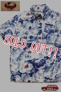 「JELADO」 Pullover B.D. Aloha Shirts ジェラード プルオーバー 抜染 百虎 アロハシャツ SG22105 [インディゴ]