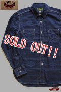 「JELADO」 Forestman Shirts ジェラード フォレストマンシャツ ネイティブ柄 CB22109 [ディープネイビー]