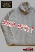 「JOHN GLUCKOW」by 「JELADO」  Seamans Shawl Sweater  ジョングラッコー ジェラード シーマンズ ショールセーター JG23805  [アンティークホワイト]