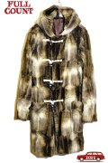 「FULLCOUNT」Royal Navy Fake Fur Duffle Coat フルカウント ロイヤルネイビー フェイクファー ダッフルコート 限定20着 [ベージュ]