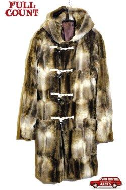 画像1: 「FULLCOUNT」Royal Navy Fake Fur Duffle Coat フルカウント ロイヤルネイビー フェイクファー ダッフルコート 限定20着 [ベージュ]
