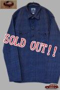 「JELADO」Buccaneer Shirts ジェラード バッカニアシャツ プルオーバー アフリカンファブリック AG31145 [インディゴ]