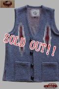 「JELADO」Santa Fe Knit Vest ジェラード サンタフェ チマヨニットベスト CB31841 [ネイビー]