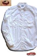 「JELADO」 ジェラード 綿ブロード ガチャポケワークシャツ JPSH-1301 [ホワイト]