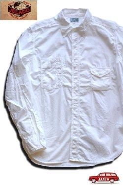 画像1:  「JELADO」 ジェラード 綿ブロード ガチャポケワークシャツ JPSH-1301 [ホワイト]