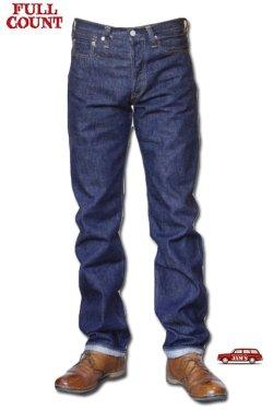 画像1:   [生産終了モデル]「FULLCOUNT」#1108 13.7oz STRAIGHT LEGS フルカウント ストレート レッグス [インディゴ]