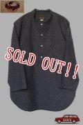 「JELADO」Ploughman Shirts ジェラード プラウマンシャツ 7分袖プルオーバー AG31109 [アッシュ]