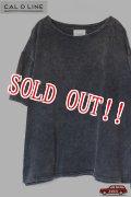 「CAL O LINE」 HIPPIE S/S Tee キャルオーライン ヒッピー 半袖Tシャツ CL181-066 [ブラック]