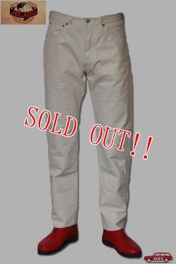 画像1: 「JELADO」 Classic Slim Pants ジェラード クラシック スリムパンツ 白パン JP94309 [バニラ]