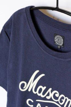 画像2: 「JELADO」Mascoma Tee ジェラード マスコマ プリント 丸胴 半袖Tシャツ AB31250 [ネイビー]