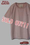 「FULLCOUNT」 BASIC POCKET Tee フルカウント ベーシックポケット Tシャツ Lot.5805P [ピンク]