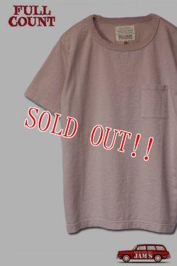 画像1: 「FULLCOUNT」 BASIC POCKET Tee フルカウント ベーシックポケット Tシャツ Lot.5805P [ピンク]
