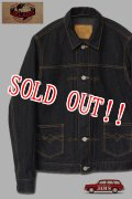 「JELADO」 5508 Black Denim Jacket ジェラード ブラック デニムジャケット JP21404 [ブラック]