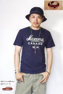 画像5: 「JELADO」Mascoma Tee ジェラード マスコマ プリント 丸胴 半袖Tシャツ AB31250 [ネイビー]