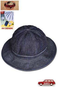 画像1: 「JELADO」 44Denim Army Hat 14oz ジェラード  44デニム アーミーハット CT94704 [インディゴ]