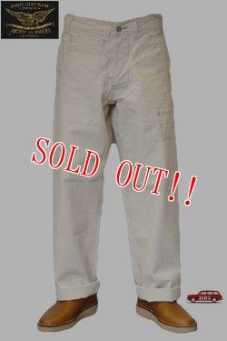 画像1: 「JOHN GLUCKOW」by 「JELADO」 Net Makers Trousers 2018 S/S ジョングラッコー ジェラード ネットメーカーズ トラウザーズ JG31357 [ナチュラル]