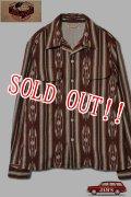「JELADO」Westcoast shirt ジェラード ウエストコーストシャツ ネイティブ柄 SG33160 [ワイン]