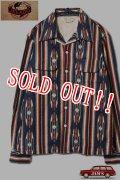 「JELADO」Westcoast shirt ジェラード ウエストコーストシャツ ネイティブ柄 SG33160 [オールドネイビー]