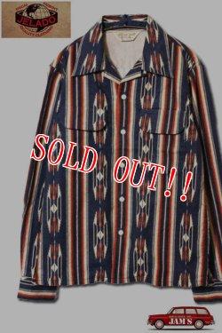 画像1: 「JELADO」Westcoast shirt ジェラード ウエストコーストシャツ ネイティブ柄 SG33160 [オールドネイビー]