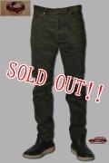 「JELADO」5109 Corduroy Pants ジェラード スリムコーデュロイパンツ JP33351 [ポパイグリーン]