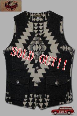 画像1: 「JELADO」 Salem Vest ジェラード セーラムベスト AG33538 [ブラック]