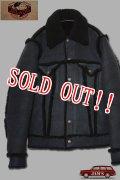 「JELADO」Ripcity Jacket ジェラード リップシティージャケット ムートン RG23435 [ブラック]